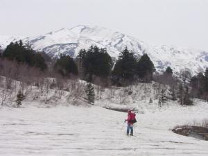 兵馬ノ平から見た五輪山