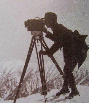 背後に鹿島槍が見えることから鷲羽岳と見られる