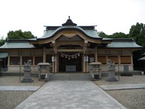 徳重の熊野社本殿