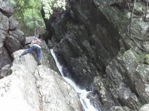 澄川のミニゴルジュ