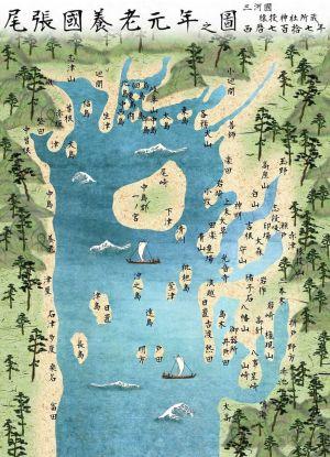 猿投神社所蔵の絵図は1300年前。